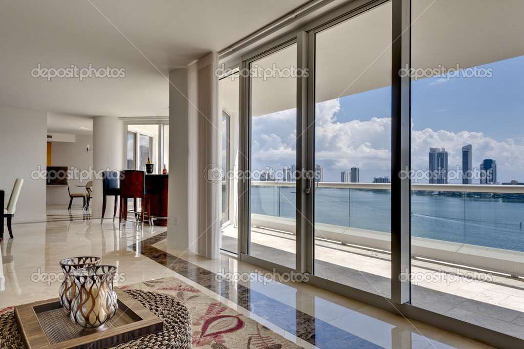 Modern Apartment with Ocean View - Crimson Capital Construction